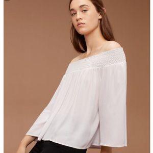 "Aritzia ""Marcilly"" blouse"